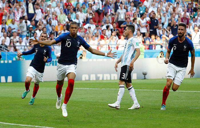Aquella vez fue un 4-3 a favor de Francia. Foto: Twitter
