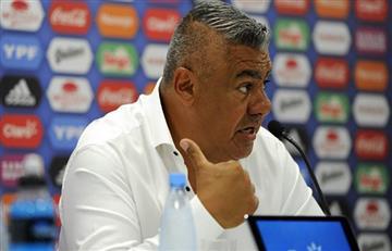 """Claudio Tapia: """"Jorge Sampaoli tiene contrato"""""""