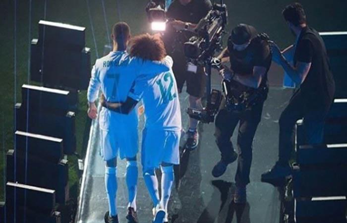 Marcelo y Cristiano Ronaldo. (FOTO: Instagram)
