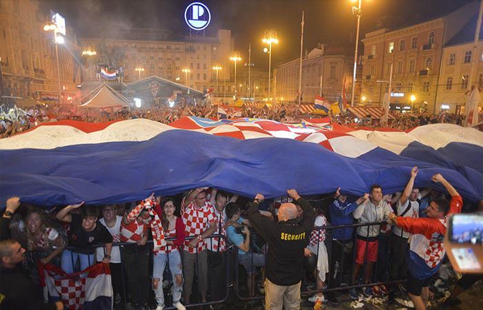 Croacia a la final (Foto: EFE)