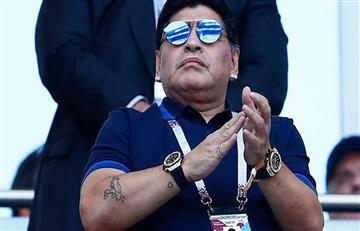 Diego Maradona y su candidato a ganar la Copa del Mundo