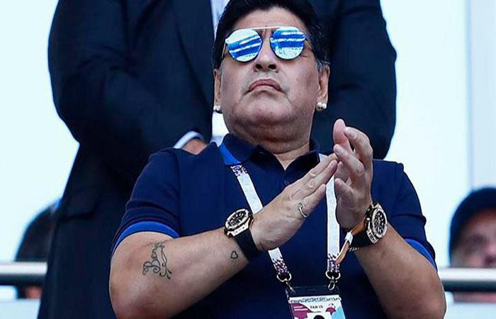 Diego Armando Maradona. (FOTO. AFP)