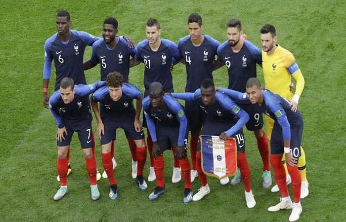 Francia sueña con el título mundial. Foto: AFP