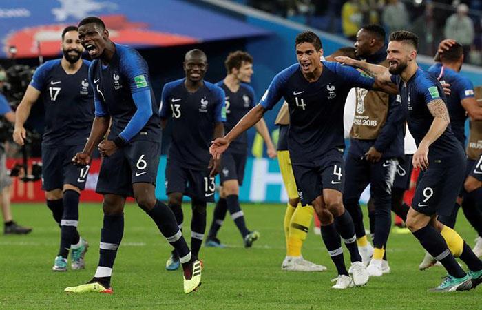 Francia se perfila como el próximo campeón del mundo. (FOTO: EFE)
