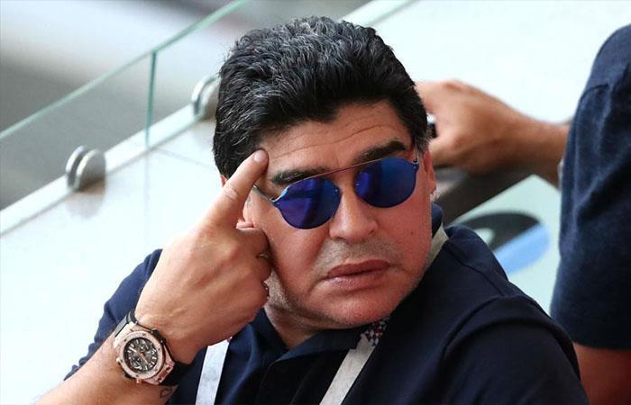Diego Maradona (Foto: Twitter)