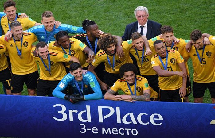 Bélgica ganó 6 partidos y se puso en el tercer lugar del Mundial. (FOTO: AFP)