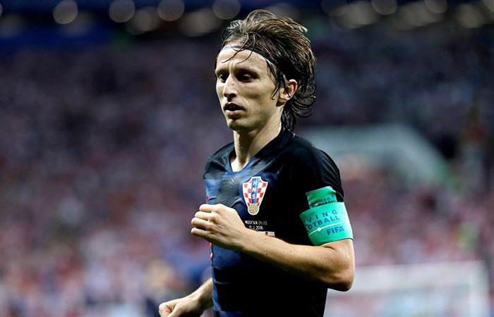 Luka Modric. Foto: EFE
