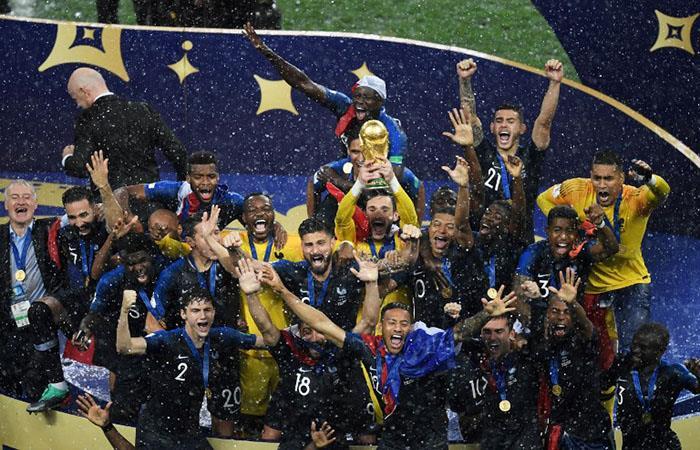 Después de 20 años, Francia vuelve a ser el campeón del mundo. Foto: EFE