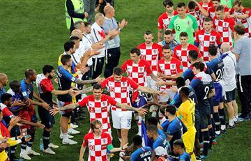 Rusia 2018: así jugó Croacia ante Francia