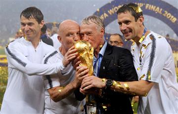 Rusia 2018: Didier Deschamps de capitán francés a campeón como entrenador