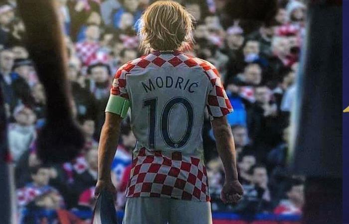 Luka Modric. Foto: Twitter