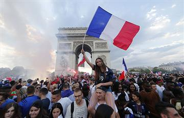 Rusia 2018: París viví una fiesta mundial