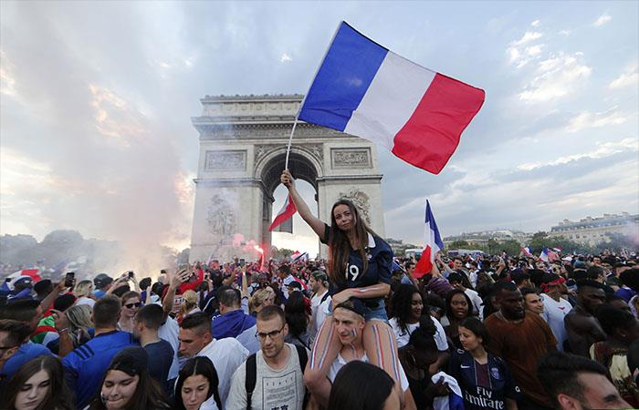 787180c63634 Rusia 2018: París viví una fiesta mundial