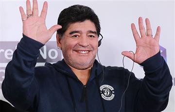 Diego Maradona asume la presidencia del Dinamo Brest