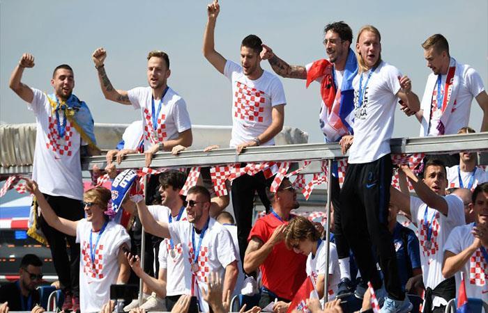 Selección de Croacia. Foto: Twitter