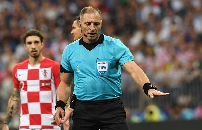 Néstor Pitana arbitró la final del Mundial de Rusia 2018. (FOTO: EFE)