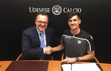 Ignacio Pussetto es anunciado como nuevo refuerzo del Udinese italiano