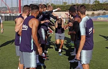 Barcelona de Lionel Messi cerró su primera semana de entrenamientos