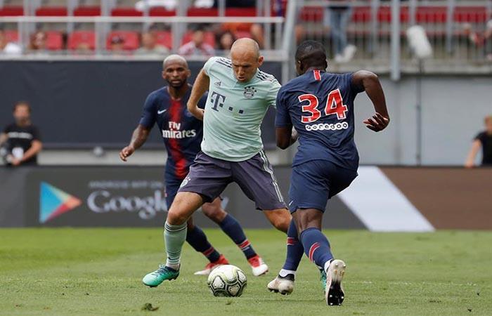 Bayern de Múnich le volteó el partido al PSG. Foto: EFE