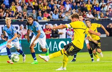 Borussia Dortmund derrotó al Manchester City por la International Champions Cup