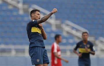 Boca Juniors: mirá el primer gol de Mauro Zárate con el 'Xeneize'