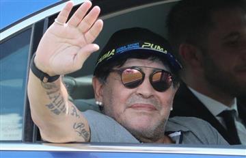Diego Maradona evita hablar del seleccionador de la 'albiceleste'