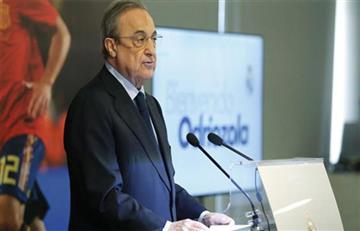 """Florentino Pérez: """"Queremos incorporar talento joven que marcará fútbol próximos años"""""""