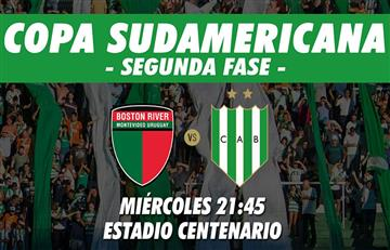 Banfield vs Boston River: EN VIVO ONLINE por la Copa Sudamericana