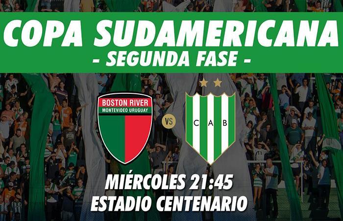 Banfield vs Boston River: EN VIVO ONLINE por la Copa Sudamericana