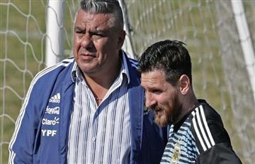 Claudio Tapia banca a muerte a Lionel Messi