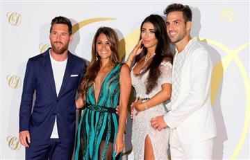 Lionel Messi en la boda de Cesc Fábregas en Ibiza