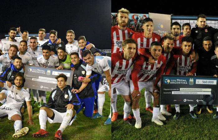 Rafaela y Estudiantes avanzan en la Copa Argentina (Foto: Twitter)
