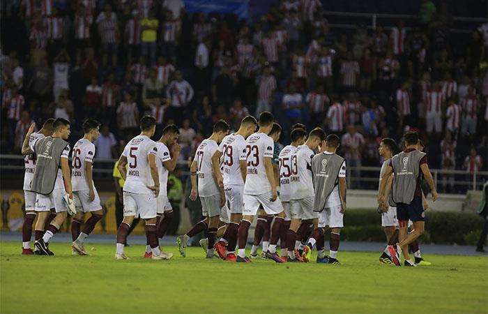 Lanús cayó en penales 3-2 ante Junior (Foto: EFE)