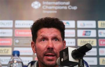 """Diego Simeone:""""Estoy contento porque jugaron muchos jóvenes que se están integrando"""""""