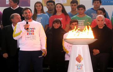 Juegos Olímpicos de la Juventud: presentan en Buenos Aires la llama olímpica