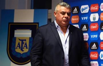 """Claudio Tapia: """"Somos conscientes que no vamos a campeonar la Copa América"""""""