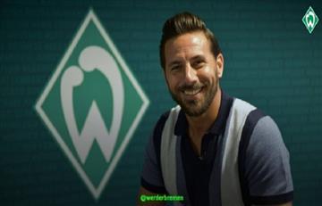 Claudio Pizarro ficha por el Werder Bremen por quinta vez en su carrera