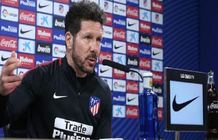 Diego Simeone. (AFP)