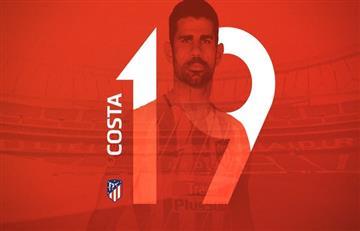 Diego Costa se pone la 19 y Lucas Hernández pasará a utilizar la 21