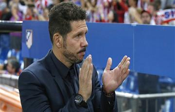 """Diego Simeone: """"El equipo generó situaciones de gol"""""""