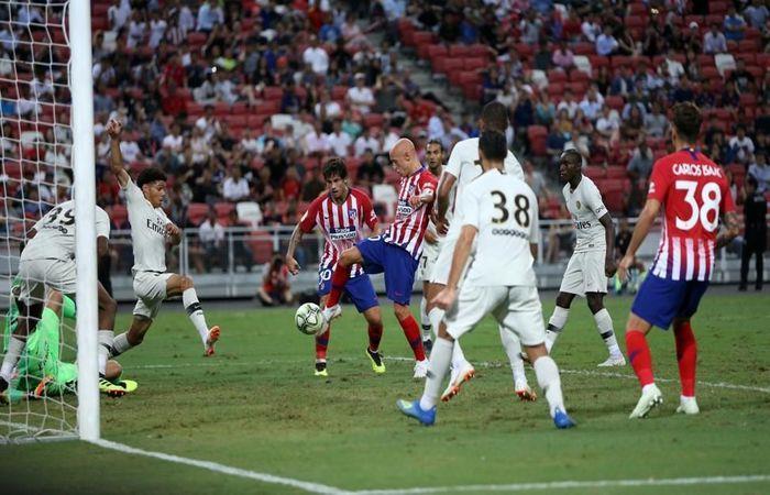 PSG venció 3-2 al Atlético de Madrid (Foto: Twitter)