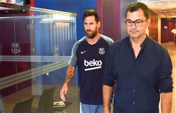 Lionel Messi volvió a casa