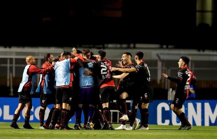 Colón venció 1-0 a Sao Paulo (Foto: Twitter)