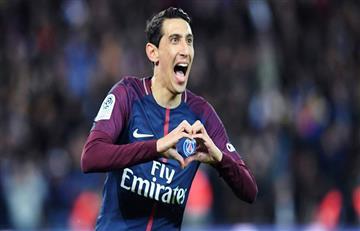 Ángel Di María le dio la Supercopa de Francia al PSG con golazo de tiro libre