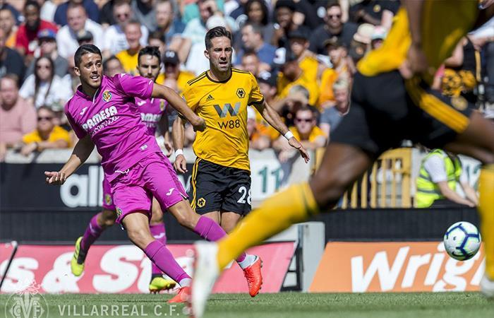 Villarreal cayó 1-2 ante el Wolves. Foto: Twitter