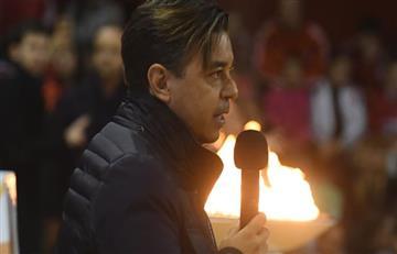 Marcelo Gallardo y su discurso sobre el espíritu