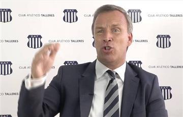Presidente de Talleres confirmó que Gareca recomendó al peruano Miguel Araujo