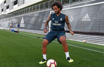Real Madrid: Marcelo se une a Casemiro en Valdebebas, ya con Celades