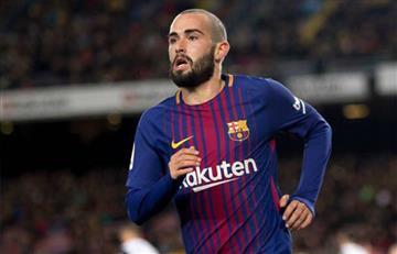 Sevilla anuncia principio de un acuerdo con el Barcelona por Aleix Vidal