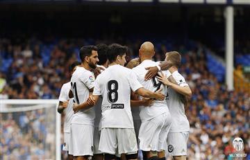 Valencia de Ezequiel Garay sacó un gran triunfo ante el Everton